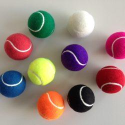 Tennisball bedruckt